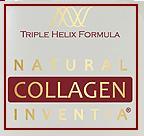 originální kvalita kolagenu Inventia, s logem TRIPLE HELIX FORMULA